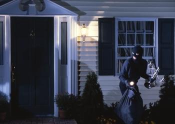 Burglars target unoccupied homes